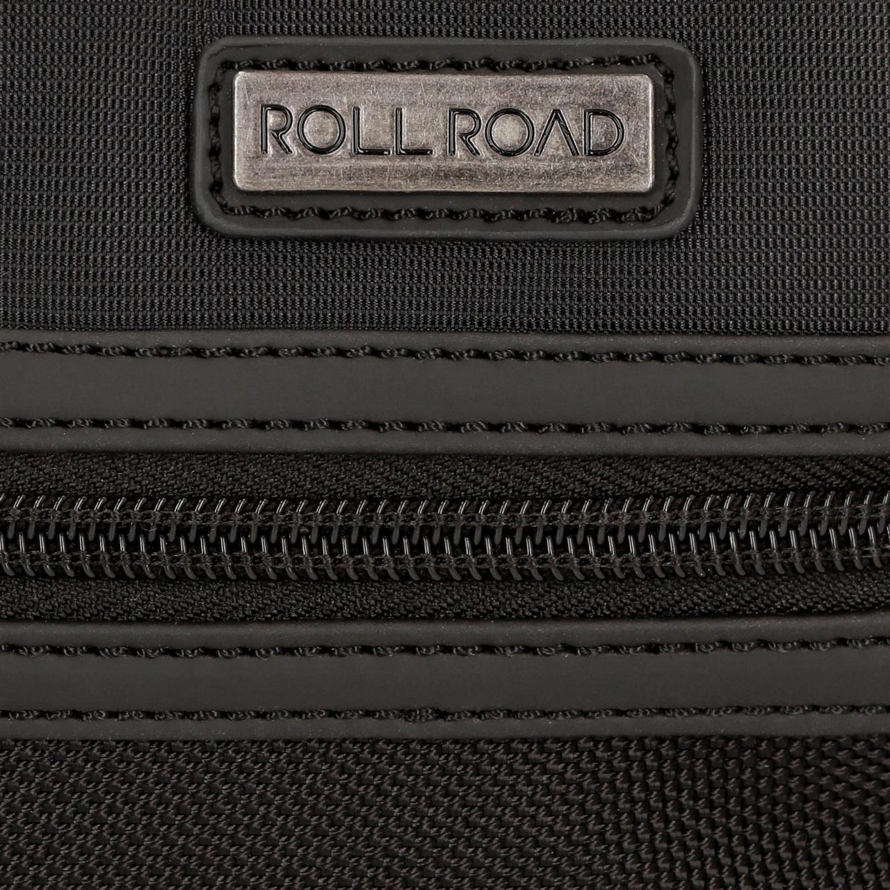 Maletín Roll Road Stock 15,6 pulgadas Negro