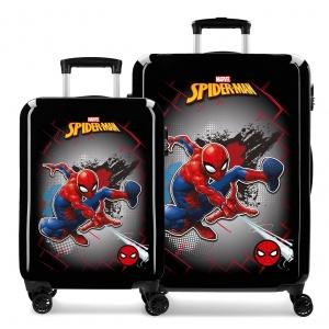 Juego de Maletas Spiderman Red rígidas 55-68cm
