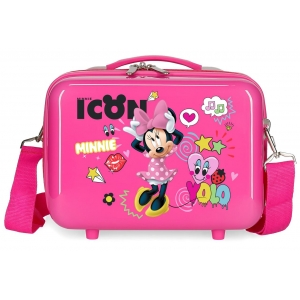 Neceser ABS Enjoy Minnie icon  Adaptable Fucsia