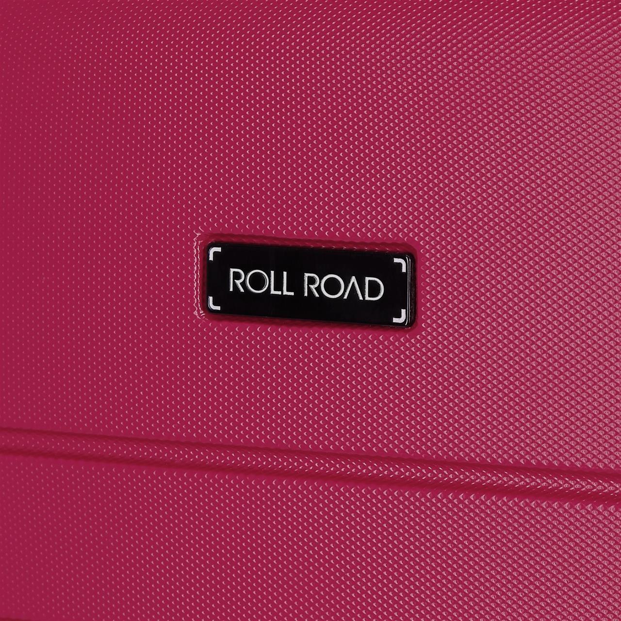 Maleta de cabina rígida 55cm Roll Road Magazine bicolor