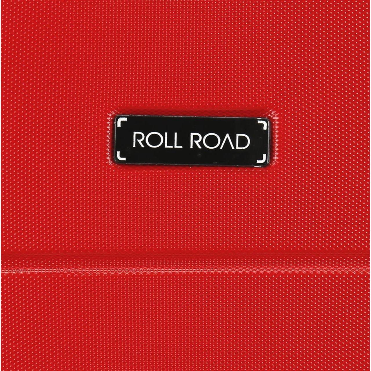 Maleta grande rígida Roll Road Magazine roja
