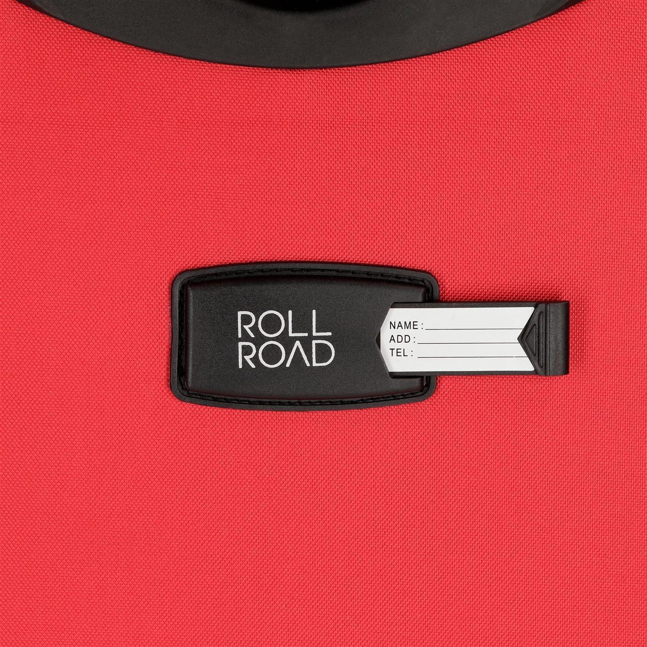 Maleta de cabina 55cm Roll Road Sicilia roja