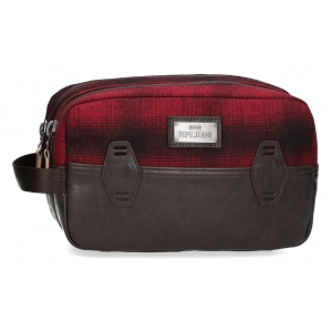 Neceser Pepe Jeans Scotch Adaptable Rojo