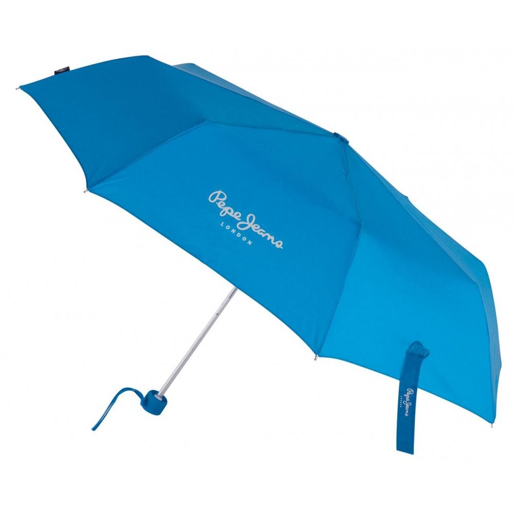 Paraguas Pepe Jeans Holloway Manual Azul