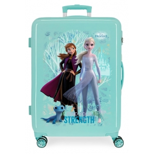 Maleta Mediana Frozen Find Your Strenght rígida 68cm