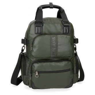 Mochila casual Pepe Jeans Bromley Verde 13,3