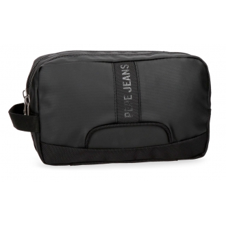 Neceser Pepe Jeans Bromley Negro adaptable a trolley