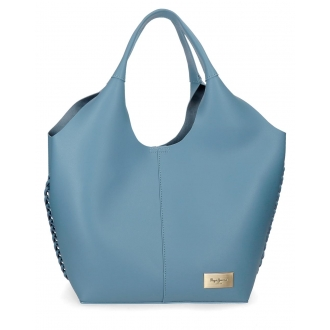 Bolso tote Pepe Jeans Angelica Azul