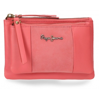 Monedero neceser Pepe Jeans Double Coral