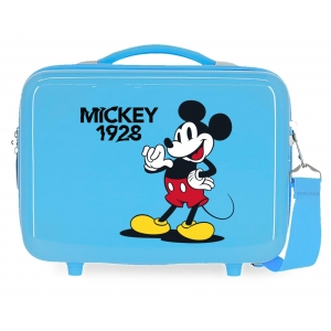 Neceser ABS Mickey 1928 That´s Easy Adaptable Azul