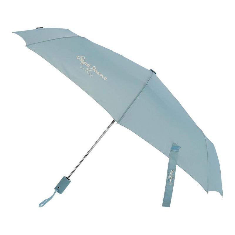 Paraguas Pepe Jeans Luma Doble Automático Azul