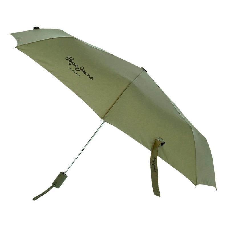 Paraguas Pepe Jeans Dorset Doble Automático Kaki