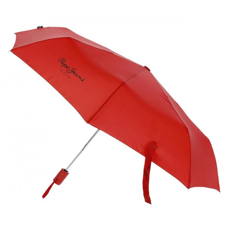 Paraguas Pepe Jeans Dorset Doble Automático Rojo