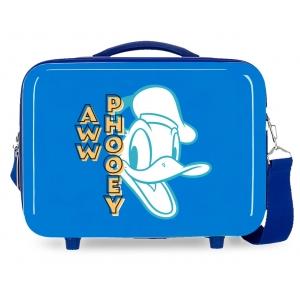 Neceser ABS Donald Aww Phooey Adaptable Azul