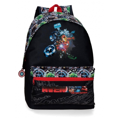 Mochila Escolar Avengers Armour Up