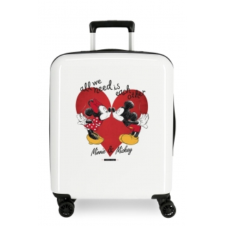 Maleta de Cabina Mickey & Minnie Love
