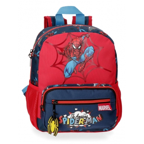 Mochila 28cm Spiderman Pop