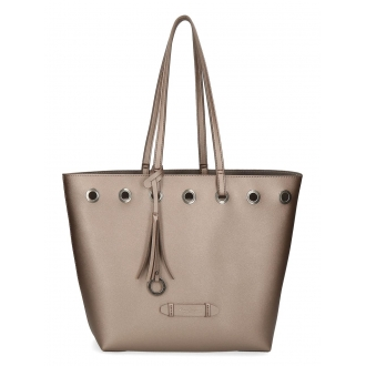 Bolso Tote Pepe Jeans Angelica Bronce