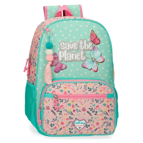 Mochila 42cm Movom Save the Planet
