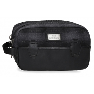 Neceser Pepe Jeans Scotch Adaptable Negro