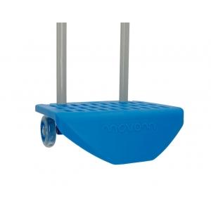 Carro Escolar Movom Logo Azul