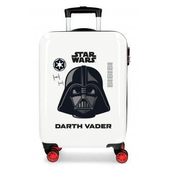 Maleta de cabina Star Wars Darth Vader rígida 55cm Blanco