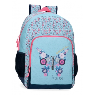 Mochila Escolar  46cm Roll Road Wild and free