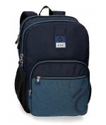 Mochila Doble Compartimento Enso Blue