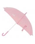 Paraguas Bastón Automático Enso Mess Rosa