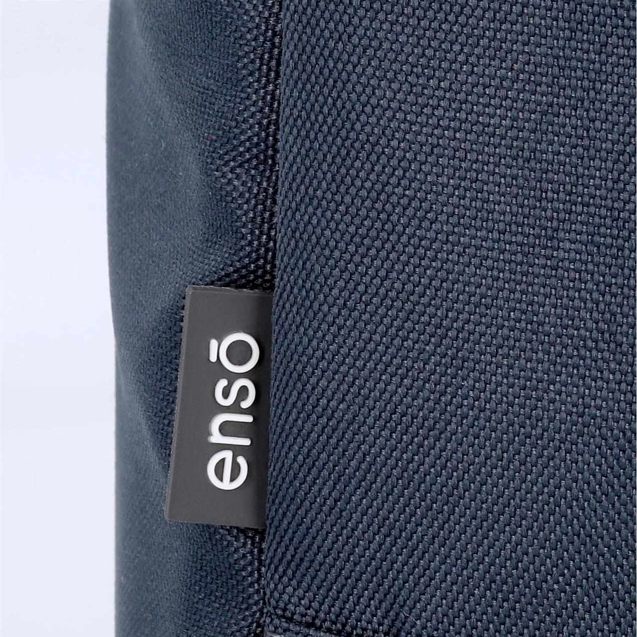 Mochila doble compartimento con carro Enso Basic Azul
