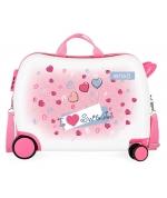 Maleta infantil 2 ruedas multidireccionales Enso Sweets
