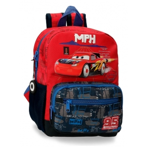 Mochila Infantil Cars Rocket Racing 28cm