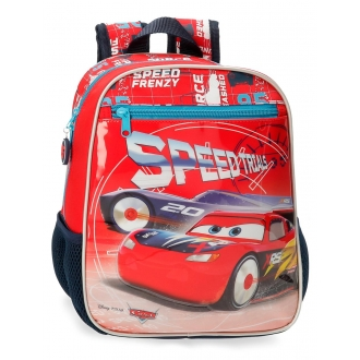 Mochila Infantil Cars Speed Trails 28cm