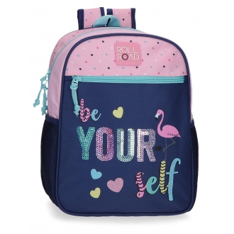 Mochila Preescolar Roll Road Be yourself