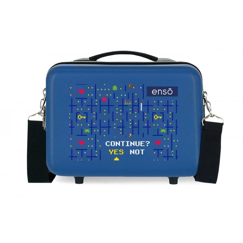 Neceser ABS Adaptable Enso Gamer Azul