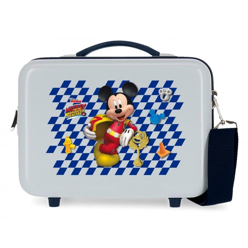 Neceser ABS Adaptable Mickey Good Mood Azul claro