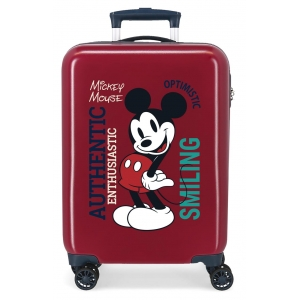 Maleta de cabina MICKEY ORIGINAL AUTHENTIQUE GRANATE