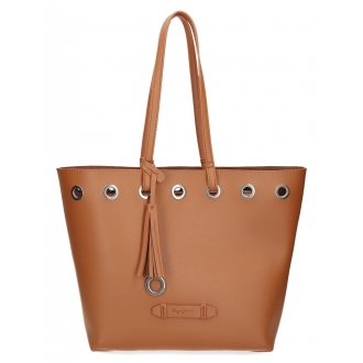 Bolso Tote Pepe Jeans Angelica Marrón