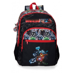 Mochila Avengers Armour Up Doble Compartimento
