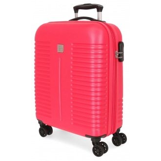 Maleta de Cabina Roll Road India Expandible Fucsia