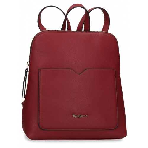 Mochila casual Pepe Jeans India Burdeos