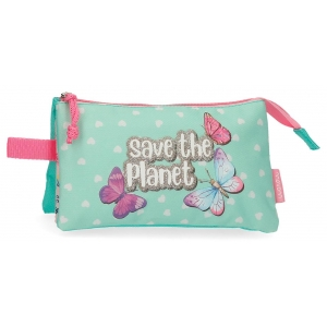 Estuche Movom Save the Planet Tres Compartimentos