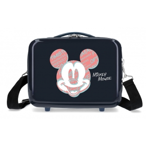 Neceser ABS Mickey Always Be Kind Adaptable Marino