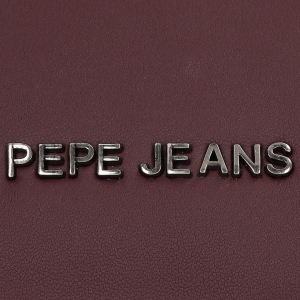 Bolso de Hombro Pepe Jeans Bloat Burdeos