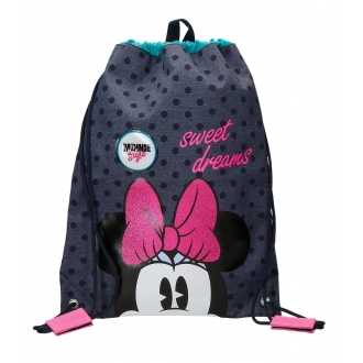 Mochila saco Sweet Dreams Minnie