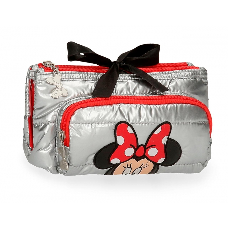 Neceser 3 compartimentos Minnie My pretty Bow