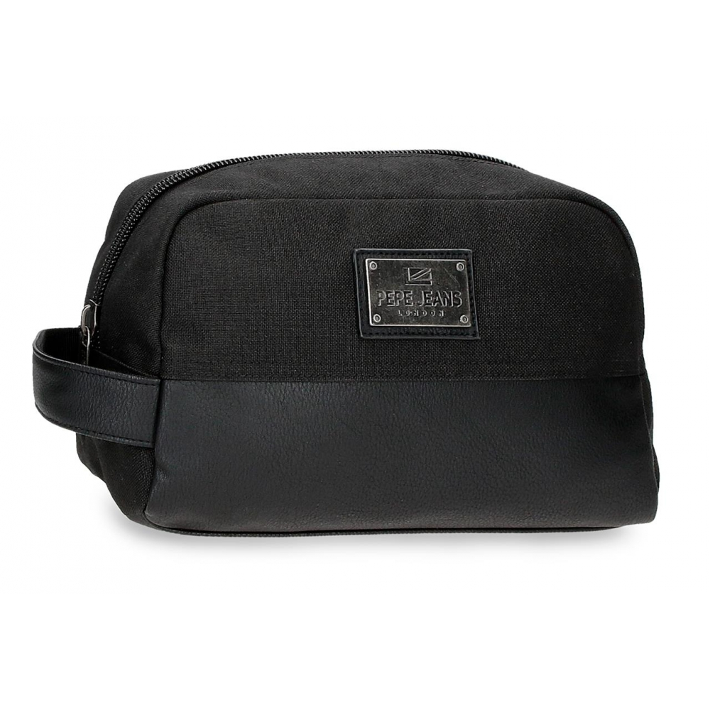 Neceser Adaptable Pepe Jeans Scratch Negro