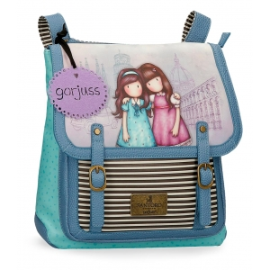 Mochila Gorjuss con bandolera Friends Walk Together