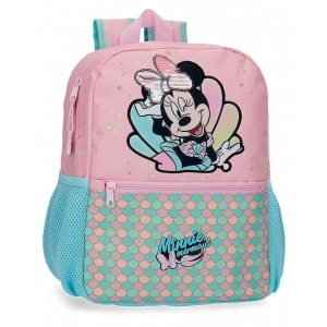 Mochila Minnie Mermaid 32cm