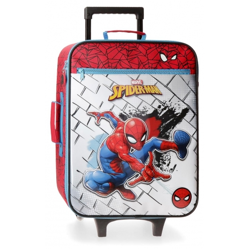 Maleta de cabina Spiderman Red
